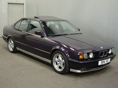 BMW M5 (E34 generation for my BMW Aficionados): Possibly the best looking M5 Sedan ever!!