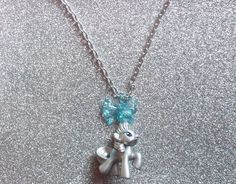 Metallic Rarity Charm Necklace by onsecretwings on Etsy, $9.50