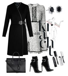 """Untitled #130"" by saltanat-orozalieva on Polyvore featuring Giambattista Valli, Danielle Guizio, Louis Vuitton, Yves Saint Laurent, Blue Nile and Bobbi Brown Cosmetics"