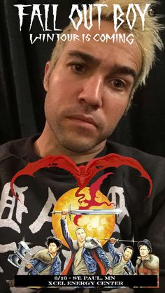 march 13th ✧ pete wentz on snapchat @peteweezy