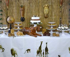 Safari Themed Baby Shower!