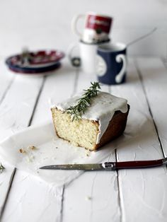Rosemary loaf cake from Always with Butter.