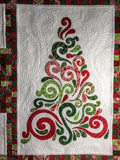 Judy's Christmas quilt seen on The Secret Life of Mrs. Meatloaf