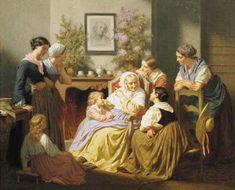 Hughes Merle, Grandmother's Story