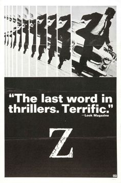Extra Large Movie Poster Image for Z in Fresh