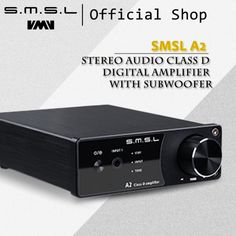 New SMSL A2 Audio Digital Home Theater Amplifier ,support 2 RCA Inputs and 3.5mm Headphone Jack Input  Price: 113.00 & FREE Shipping  #tech #electronics #home #gadgets Home Theater Amplifier, Impedance Matching, Work Status, Audio, Free Shipping, Digital, Tech, Electronics Gadgets, Countries
