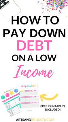Pay Debt, Debt Payoff, Money Tips, Money Saving Tips, Mo Money, Money Plan, Free Money, The Plan, How To Plan