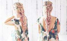 Feeling the summer boho feels lately-try this double boho braid to get the look! Also I have been testing out some pink champagne hair color— let me know what you think! I created this hair … Braided Hairstyles Tutorials, Boho Hairstyles, Pink Champagne Hair Color, Messy Braids, Braid Hair, Flower Braids, Fishtail, Hair Hacks, Hair Tips