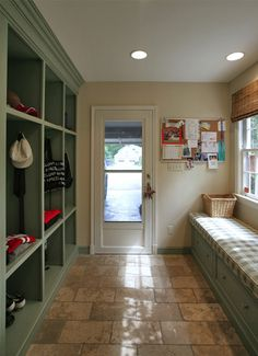 Are you looking for Rustic Farmhouse Mudroom Ideas? Maybe mudroom is a room that is rarely found in several homes, but many modern families consider . Mudroom, House, Interior Design And Build, Home Addition, Grey Laundry Rooms, Room Renovation, Home Remodeling, New Homes, Home Renovation