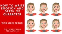 write emotion and depth of character with becca puglisi