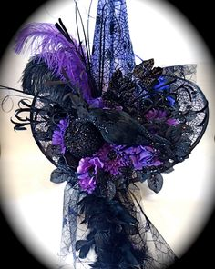 Crow Catcher Witch Hat Halloween Costume by Marcellefinery on Etsy