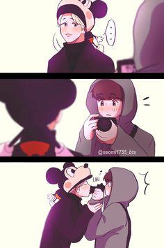 É isso que eu imaginei quando o jungkook e o Jimin viajaram pro Japão kkkkkkk