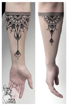 Mirja Fenris Tattoo #ink #tattoo