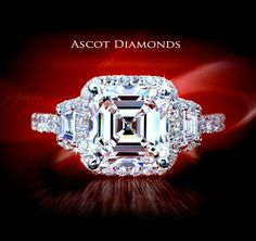 asscher, pave, halo, 3.stone, dream ring!