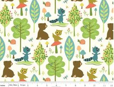 "Riley Blake USA Patchworkstoff ""Woodland Tails"""