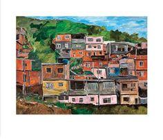 Favela Villa Candido print by Bob Dylan