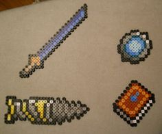 Terraria beadcrafts. $1 for the set. Etsy