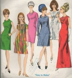 babydoll 1960s dresses - Google Search