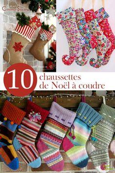 10 idées de chaussettes de Noël à coudre « Blog de Petit Citron