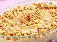 Pavê delícia de amendoim - Veja mais em: http://www.cybercook.com.br/receita-de-pave-delicia-de-amendoim.html?codigo=109724