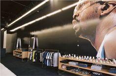 Undefeated Las Vegas, Nevada 2007 Sneaker Stores, Shop Layout, Environmental Graphics, Retail Space, Environment Design, User Experience, Retail Design, Portfolio Design, Design Process