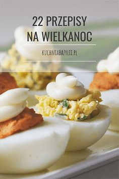 Przepisy na Wielkanoc - przepisy na sałatki, dania obiadowe i jajka Easter Dinner, Easter Recipes, Baked Potato, Catering, Dinner Recipes, Food And Drink, Menu, Eggs, Favorite Recipes