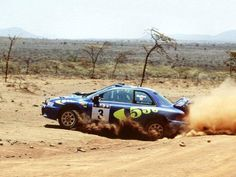 Colin McRae Subaru World Car