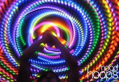 color my world | This LED hoop looks AMAZING! | GLOVING/HOOPING/POI | Pinterest