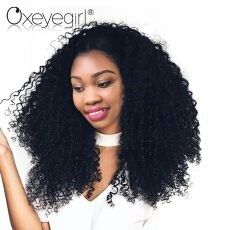 Oxeye girl Lace Front Human Hair Wigs With Baby Hair Brazili...