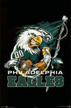 Philadelphia eagles swoop nfl team mascots pinterest voltagebd Image collections