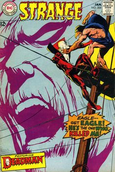 "1967 Alley Award: Best New Strip - ""Deadman"", by Arnold Drake & Carmine Infantino, in Strange Adventures  (DC Comics)"