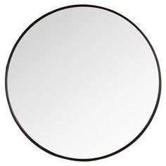LUCAS - Specchio rotondo in metallo D81