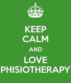kEEP CALM PHYSIOTHERAPY www.tgn-physio.com www.tgn-physio-co.com
