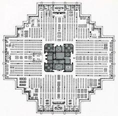 6th_floor_plan Biblioteca Geisel / William L. Pereira & Associates