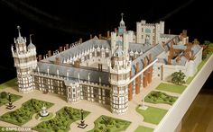 Nonsuch can be seen in all its glory for the first time in more than 300 years after a model maker recreated it thanks to an Oxford University professor's research