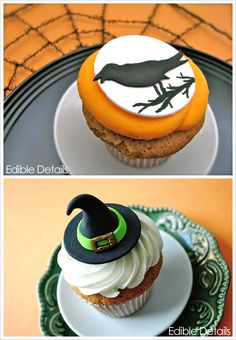 Half Baked – The Cake Blog » Spook-tacular Halloween Cupcake Toppers