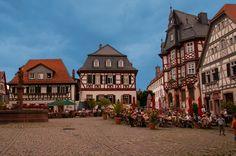 Heppenheim Market Square, Germany