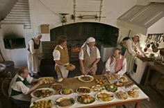 "Recipes from Colonial Williamsburg Historic Foodways where ""History Is Served""!"