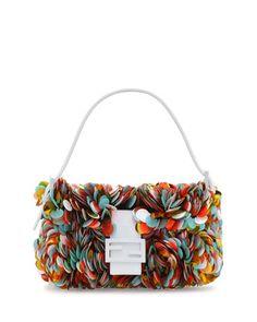 Paillette Baguette Shoulder Bag, Multicolor by Fendi at Neiman Marcus.