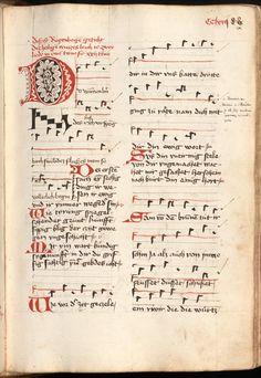 Kolmarer Liederhandschrift Rheinfranken (Speyer?), um 1460 Cgm 4997  Folio 587