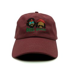 Best Buds Dad Hat Best Buds dad hat features embroidery on the front, an unstructured fit for comfort, a curved brim, and a comfortable adjustable back strap. - FREE SHIPPING (USA) - Low profile dad h
