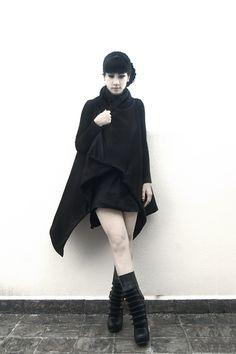 DIY Draped Vest | The Rosenrot | For The Love of Avant-Garde Fashion