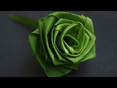 Rose Flower with coconut leaf In Nature Arts By Srujana TV - YouTube