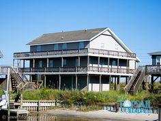 Vacation Rental Topsail Beach-S. Anderson Area & Second Row Ocean | LANIER #3    my favorite beach house!