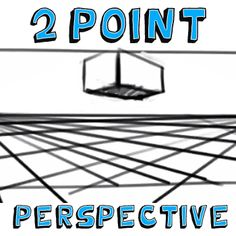 how to draw your name in 2 point perspective