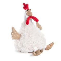 Peluche a forma di gallina per bambini COTCOT