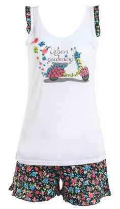 Discover Yamamay's online store and shop for the latest fashion in underwear, swimwear and clothing for women, men and kids. Cute Sleepwear, Summer Pajamas, Summer Kids, Bandanas, Sleepover, Pyjamas, Nightwear, Pajama Set, Underwear