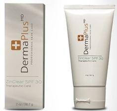 DermaPlus MD Zinclear SPF 30 Tan 60 ml - (Tinted) Renkli Güneş Koruyucu 30th, Shampoo, Personal Care, Skin Care, Bottle, Beauty, Personal Hygiene, Skincare, Flask