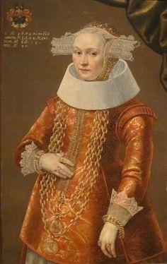 'Portrait of a Daughter of Deiterich Bromsen' by Michael Conrad Hirt, Dayton Art Institute -