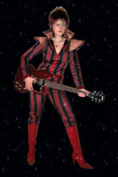 Ziggy Stardust costume by ThreeRingCinema